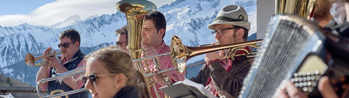 When music plays on the slopes - ski resort Klausberg
